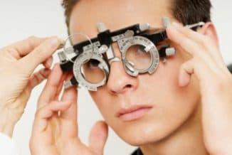 сложный гиперметропический астигматизм левого глаза