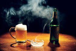 вредные привычки и неправильный образ жизни