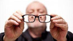 снижения остроты зрения