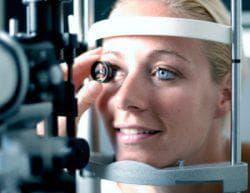 наружный осмотр органа зрения