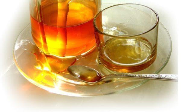вода и мёд для компрессов