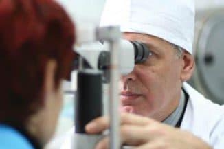 консультация у глазного врача