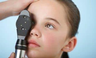 как проверяют глазное дно у детей