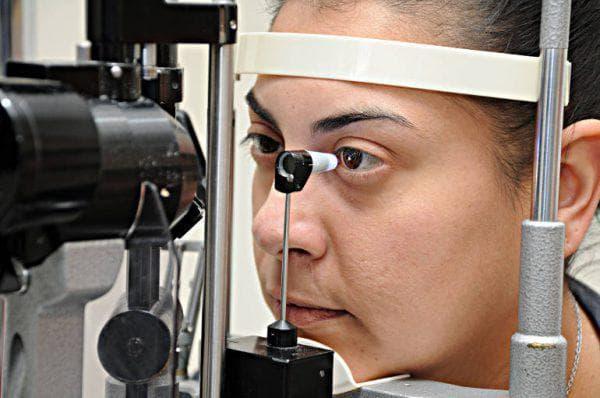 как проводится тонометрия глаза
