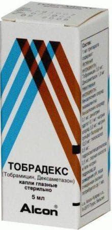 капли Тобрадекс