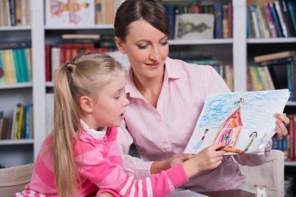 у психолога с ребёнком