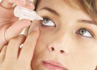 закапывание глаза каплями
