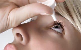 закапывание глаза