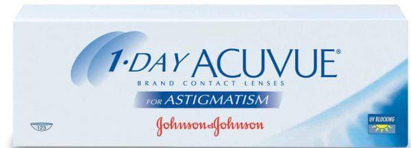 торические линзы Johnson & Johnson