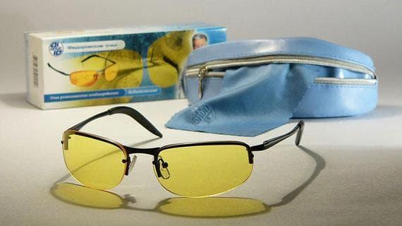 защитные очки для работы за компьютером очки Федорова