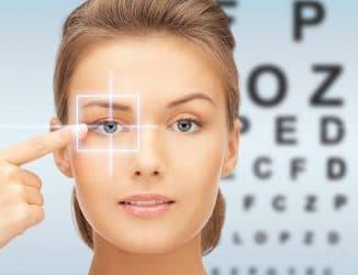 упражнения для улучшения зрения при близорукости