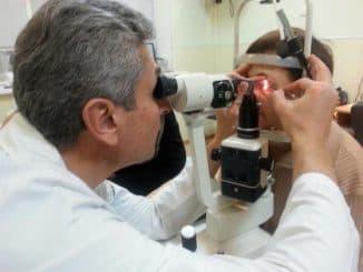 обследование офтальмолога