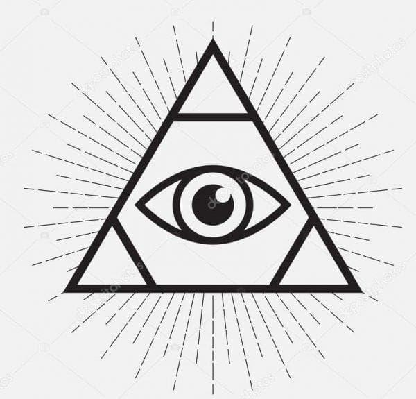 глазами нарисовать прямоугольник