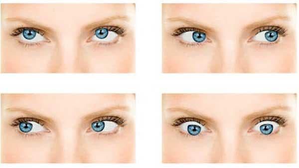 смотреть глазами в разные стороны