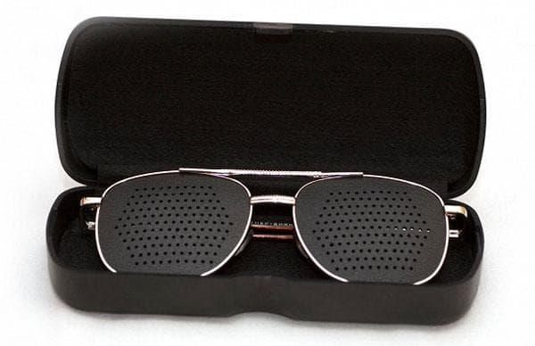 очки в дырочку для улучшения зрения Лазер Вижн