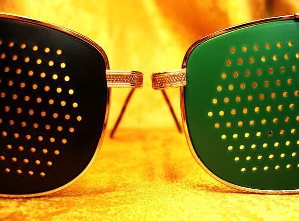 очки в дырочку для улучшения зрения Супер Вижн