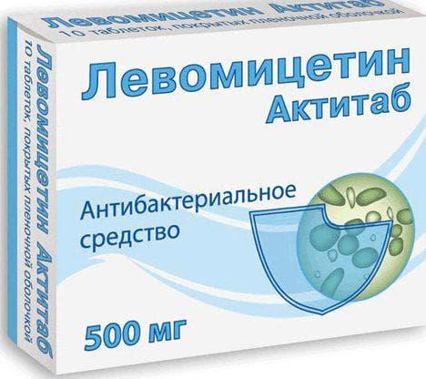 капли Левомицетин