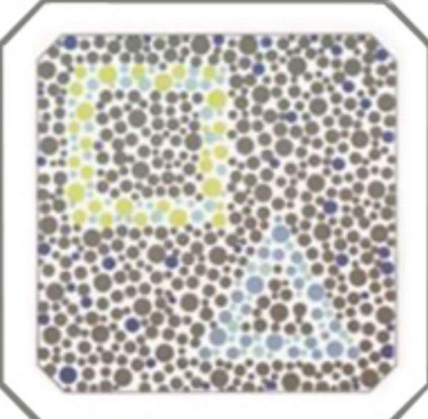 таблицы Рабкина изображено квадрат и треугольник