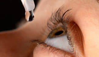 закапывания глаз