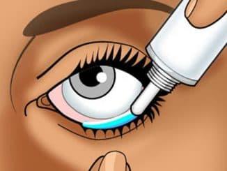 гель в глаз ребёнку