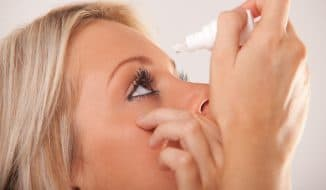 правильное закапывание глаз