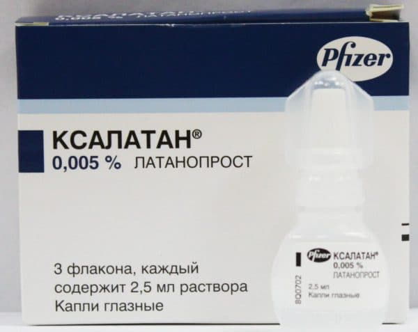 капли Ксалатан