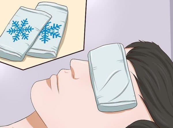 холодный компресс на глаза самый простой и действенный способ