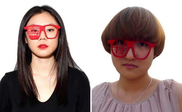 специальные корректирующие очки